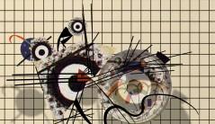 After Mondrian Kandinsky & Klee