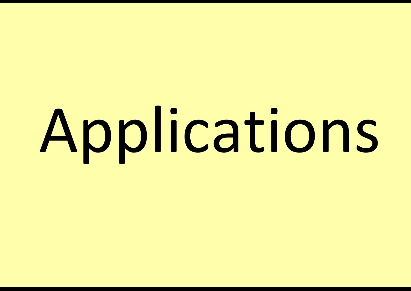 NFCT Applications