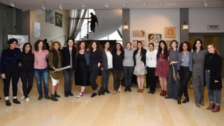 משתתפות חממת נשים תיעודית 2018