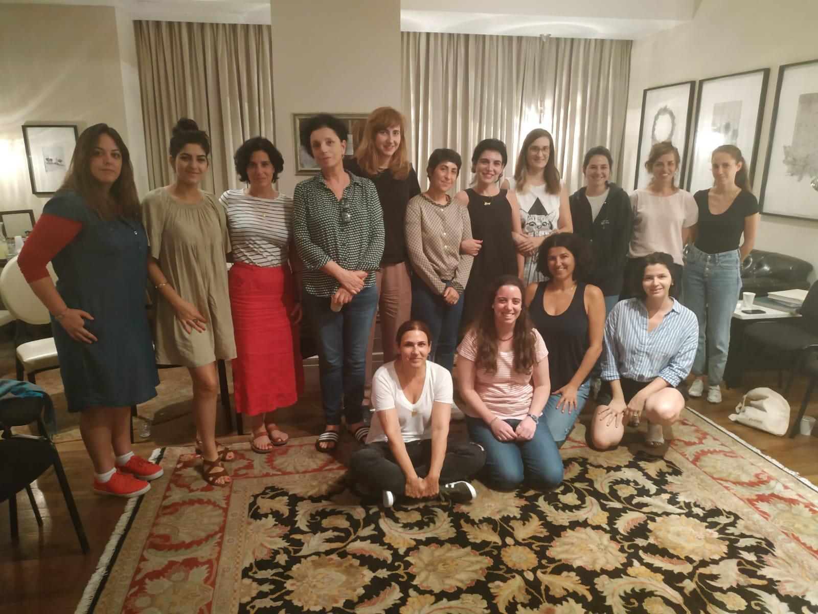 משתתפות חממת נשים תיעודית 2019