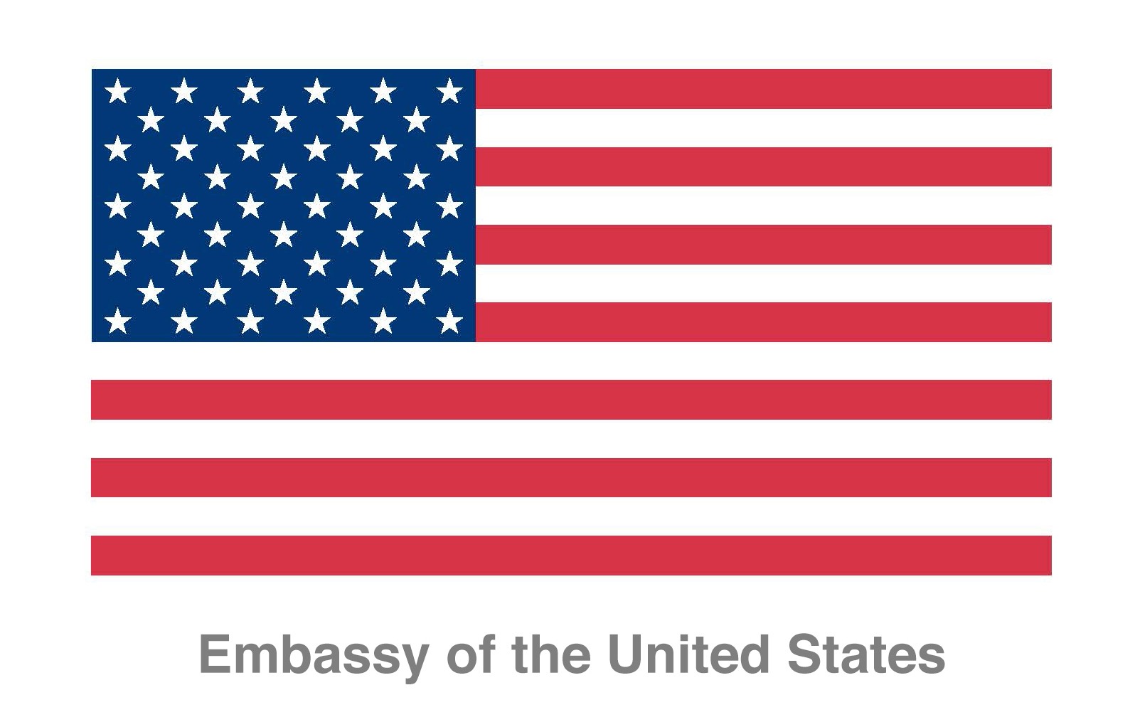 The Public Diplomacy Section of the U.S. Embassy Jerusalem – Branch Office Tel Aviv לוגו