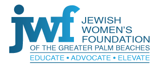 Jewish Women's Foundation of the Greater Palm Beaches לוגו