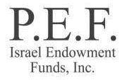 PEF לוגו